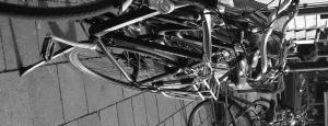 Ik zet mijn fiets tegen de muur van de supermarkt. Tenminste, dat wil ik doen totdat ik word aangesproken door een vrouw. Een fietsparkeernazi.